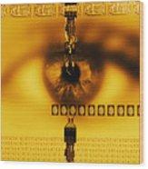 Biometric Identification Wood Print