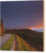 Blue Ridge Parkway. Wood Print