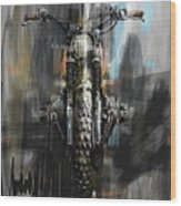 Bmw Motorcycle Wood Print