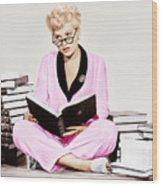 Born Yesterday, Judy Holliday, 1950 Wood Print by Everett