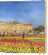 Buckingham Palace London Wood Print