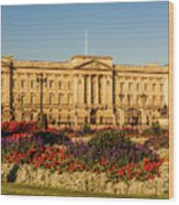 Buckingham Palace, London, Uk. Wood Print