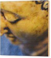 Buddha Sculpture Wood Print