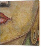 Budha Wood Print