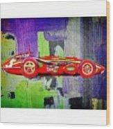 #car #sportscar #racecar #nascar Wood Print