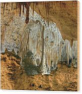 Carlsbad Caverns Wood Print