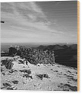 Carrauntoohil Summit Wood Print