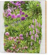 Castle Gardens Wood Print