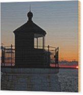 Castle Hill Light Newport Rhode Island Wood Print