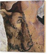 Cave Art: Horse Wood Print