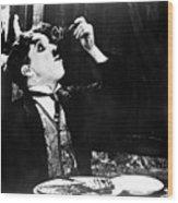 Chaplin: Gold Rush. 1925 Wood Print