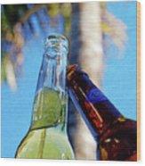 Brew Cheers Wood Print