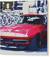 Chevrolet Corvette Wood Print