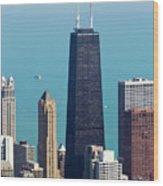 Chicago Il, Usa Wood Print