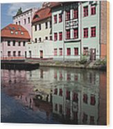 City Of Bydgoszcz In Poland Wood Print