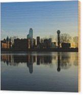 city of Dallas Wood Print