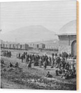 Civil War: Prisoners, 1864 Wood Print