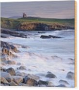 Classiebawn Castle, Mullaghmore, Co Wood Print