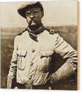 Colonel Theodore Roosevelt Wood Print