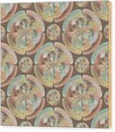 Complex Geometric Pattern Wood Print
