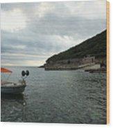 Cunski Beach And Coastline, Losinj Island, Croatia Wood Print