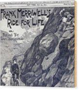 Dime Novel, 1897 Wood Print