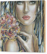 Drama Queen 301109 Wood Print