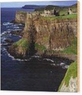 Dunluce Castle, Co. Antrim, Ireland Wood Print