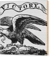 Eagle, 19th Century Wood Print