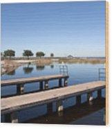 East Lake Toho In Florida Wood Print