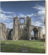 Elgin Cathedral Wood Print