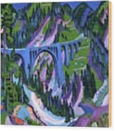 Ernst Ludwig Kirchner Wood Print