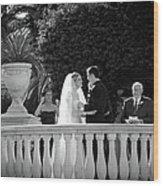 Etzel Mcdougal Wedding Wood Print