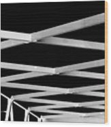 Exes Wood Print