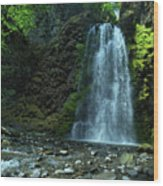 Fall Creek Falls Wood Print
