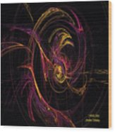 Fenix Arise Wood Print