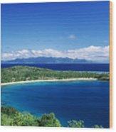 Fiji Wakaya Island Wood Print