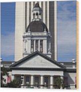 Florida State Capitol Building Wood Print