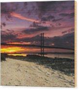 Forth Road Bridge Wood Print