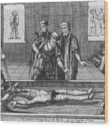 Foxe: Book Of Martyrs Wood Print