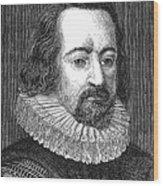 Francis Bacon, English Polymath Wood Print
