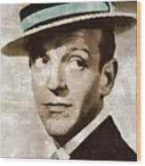 Fred Astaire Hollywood Legend Wood Print