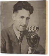 George Orwell 1 Wood Print