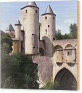 Germans Gate - Metz, France Wood Print