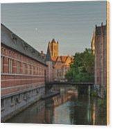 Ghent Wood Print