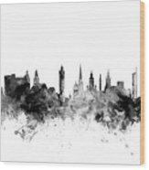 Glasgow Scotland Skyline Wood Print