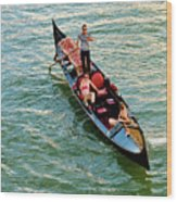 Gondola Wood Print