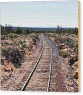 Grand Canyon Railway Wood Print by Thomas R Fletcher