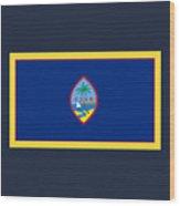 Guam Flag Wood Print