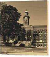 Historic White Hall - Tuskegee University Wood Print